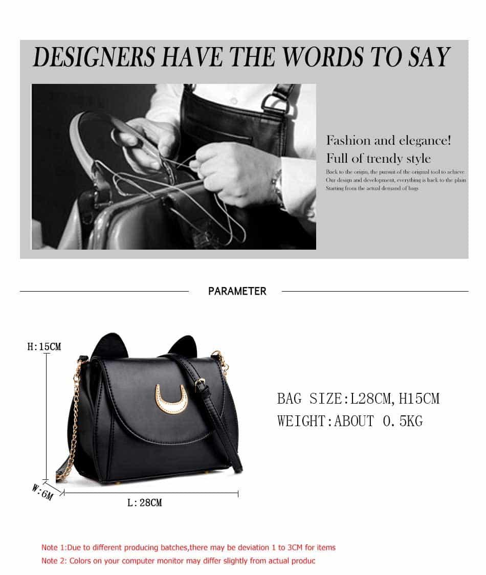 New Limited Shoulder Bag For Ladies Luna Cat 1