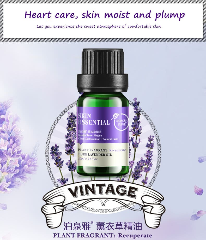 Lavender Oil For Face Wrinkles Bioaqua Essential Oil