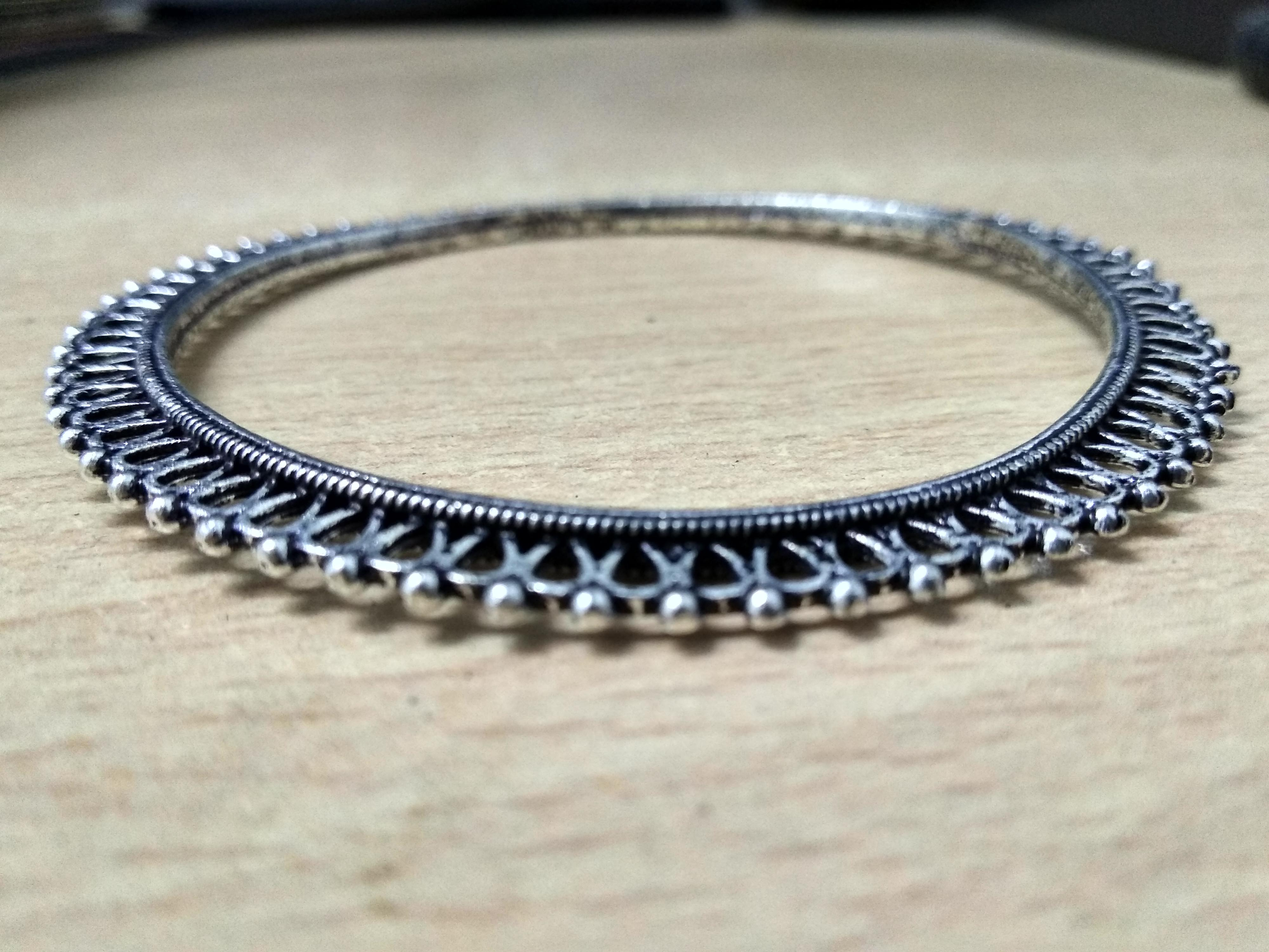Bangles For Girls Oxidised Bangle