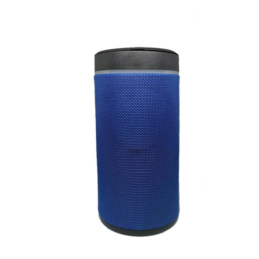 Bluetooth speaker with mobile holder blue