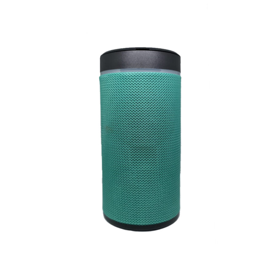 Bluetooth speaker with mobile holder green